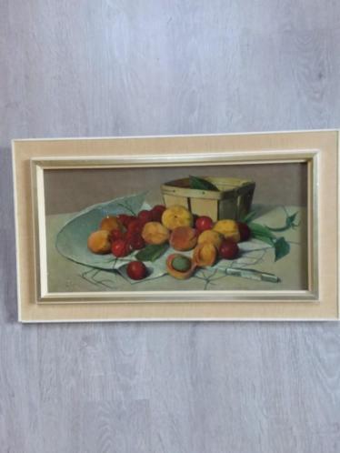 Schilderij stilleven Fruit van A van Stolk