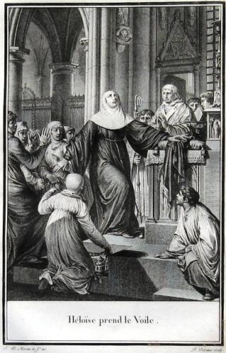 Lettres d'Héloïse et d'Abbelard 1796 HC Set van 3 met 8 grav