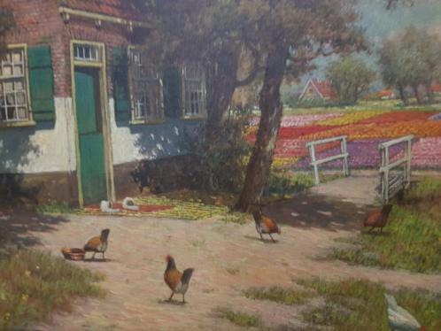Schilderij van H.Veenendaal