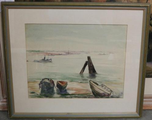 Karel De Posson, aangemeerde bootjes