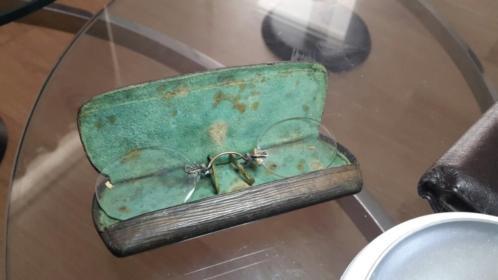 te koop antieke bril zie foto.s