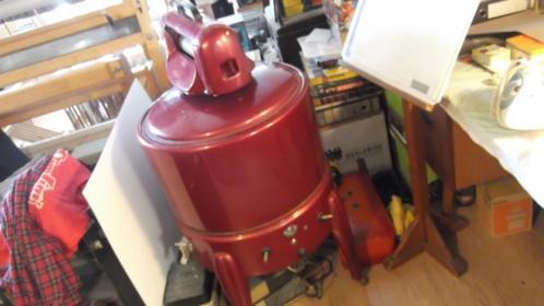 Vintage antiek wasmachine Gerstaureerd