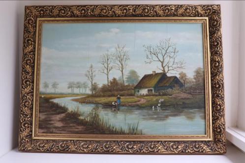 Olieverfschilderij C. Hendriks