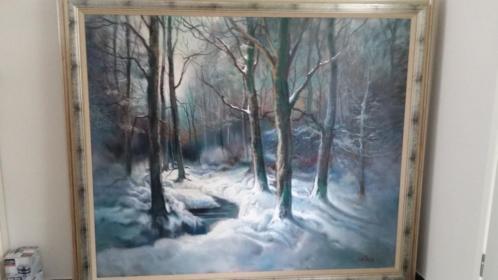 Schilderij gemaakt door Lambertus de Jong