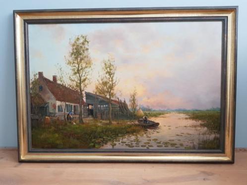 Olieverf Schilderij Albert Wessels