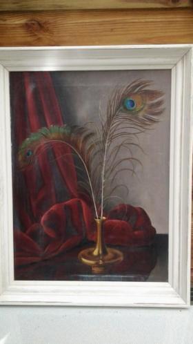 Schilderij van p rosier