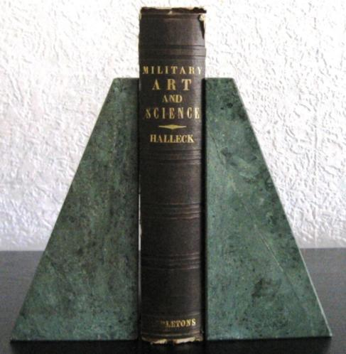 Elements of Military Art & Science 1846 Halleck