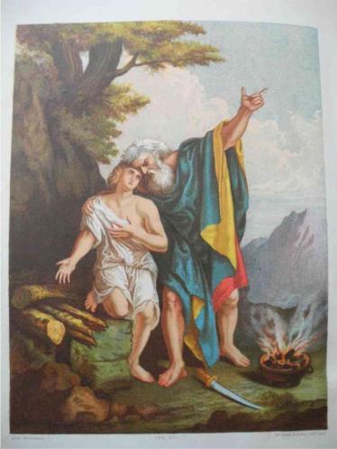 Antieke Platen Bijbel 19e eeuw OT+NT Browns Holy Illustrate
