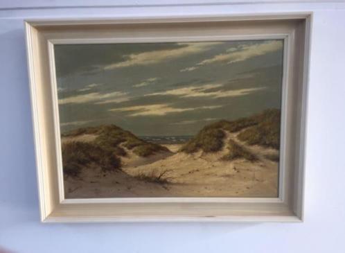 Schilderij schilder Noordberg olieverf duinen voorstelling