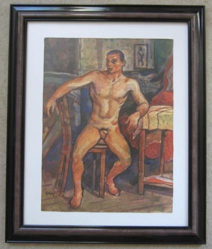==mannelijk naakt==ca 1930===HERMAN BIELING 1887-1964===