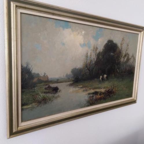 Groot schilderij G.F.van Schagen