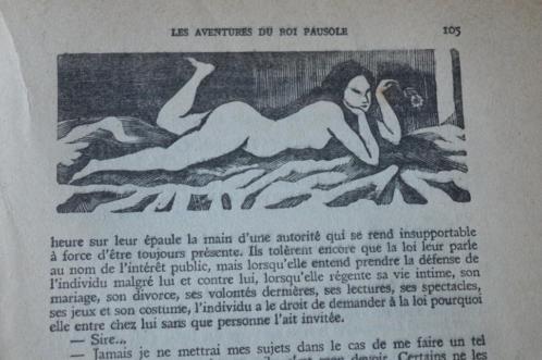 Les aventures du Roi Pausole.