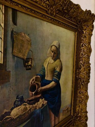 Mooie afdruk van het Melkmeisje van Vermeer