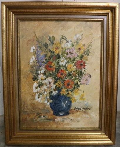 Agnes Galland, klassiek bloemenstilleven
