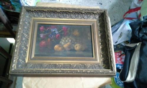 Oud en mooie schilderij