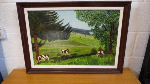 """Luc de Lovinfosse """"les vaches"""""""