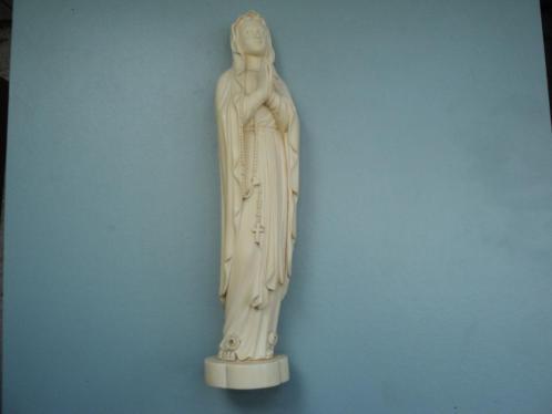Ivoren Maria / Madonna beeld van voor de Citeswet 1947