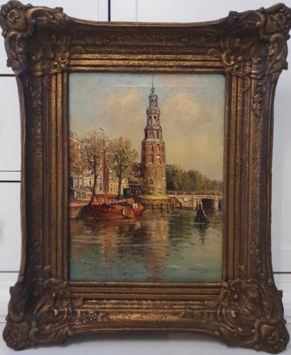 P.J.A. Wagemans (1879-1955) - Montelbaanstoren in Amsterdam