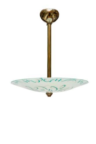Glazen Hanglamp, Antieke Lampen, Slaapkamer Hanglamp