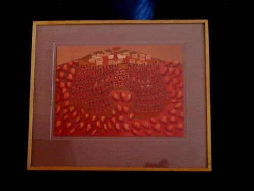 Naïve Kunst 1979 - Beleg van Troye - José de Freitas (1935)
