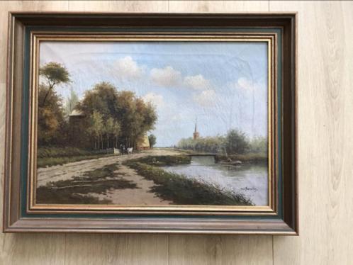 Olieschilderij n.v. Borselen