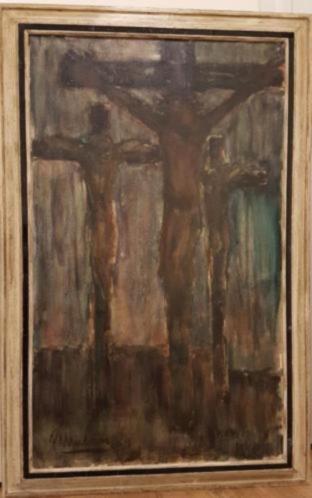 origineel schilderij met kunstwerk van p mulders robert cox
