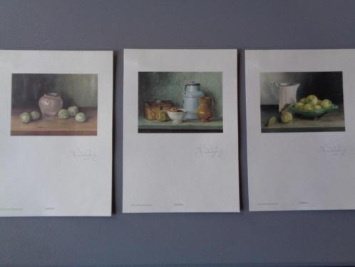 3 Olieverf afbeeldingen Ineke Wisselink