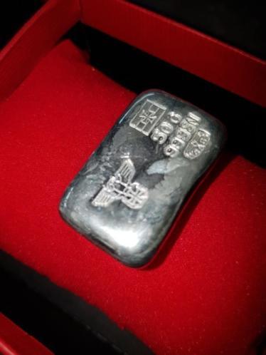 Tinnen 999 WWII Iron Cross Tweede Wereldoorlog Baar 50 gram