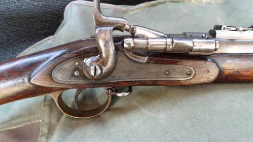 Geweer, geen jachtgeweer, Snider 3 bander