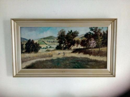 Landschapsschilderij van Corot