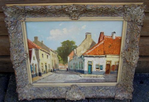 Henk Welther (1891-1947), ouderwets straatbeeld