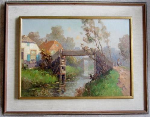 ====GIETHOORN =Jan Knikker jr 1911-1990 = fraai werk ===