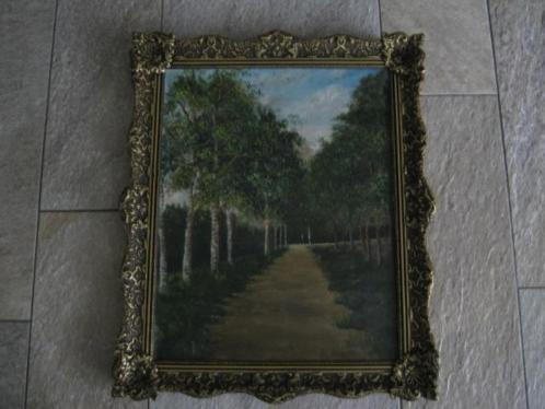 schilderij bospad 50 x 61 cm