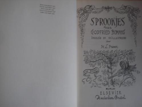 5e druk 1953 sprookjes godfried bomans illustr H L Prenen