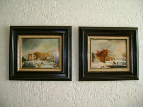 Schilderijen Winterlandschap