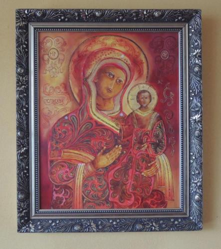 Schilderij / Ikoon Madonna