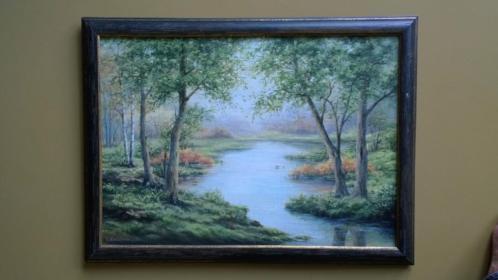 Kovalenko 50x70 cm. olieverf op canvas 2003 - ingelijst