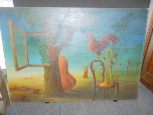surialistische schilderij