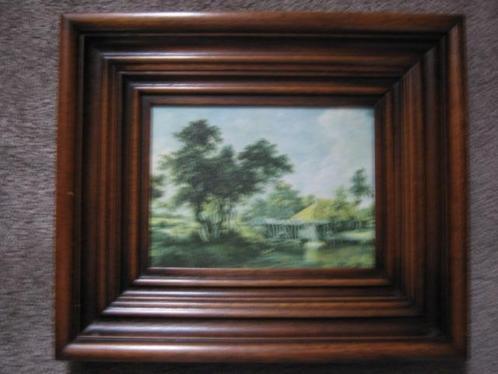 schilderijtje 40 x 33 cm