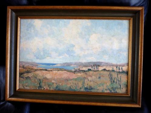Impressionistisch - kustlandschap ca. 1940 - gesigneerd