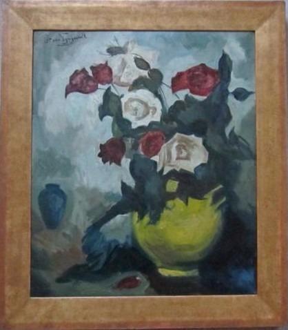 rozen in vaas=Piet van Wijngaerdt 1873-1964==BERGENSE SCHOOL