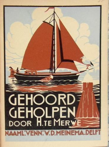 Uitg. Meinema Delft III (Antieke Kinderboeken)