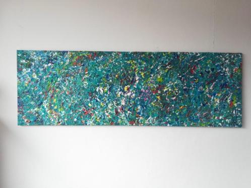 Abstract schilderij van Mac.