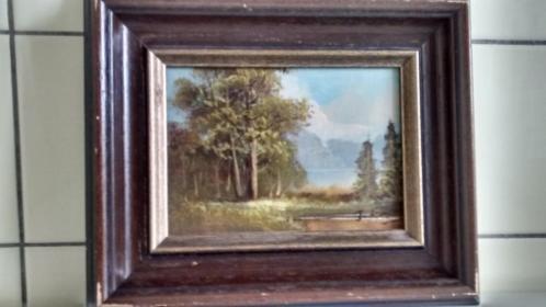 Set 3 schilderijen 2 x Bart Slaats en 1x J Kok.