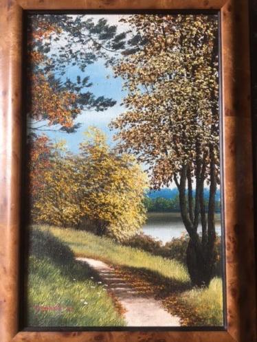Schilderij Olieverf op doek
