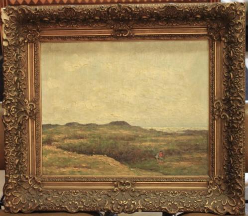 doek, 39 49, landschap, ges, W. Markestein (=Aris Knikker)