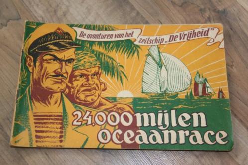 Zeilschip DE VRIJHEID (24.000 MIJLEN OCEAAN RACE.)KAPT ROB!!