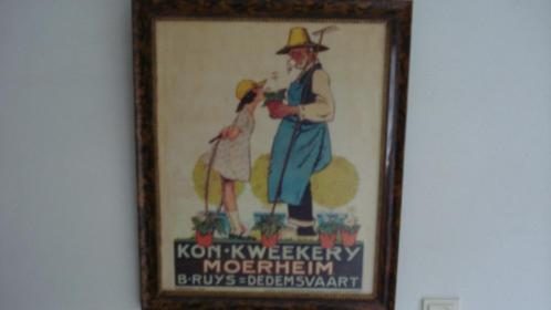 Kleurenlitho Piet van der Hem Moerheim Dedemsvaart