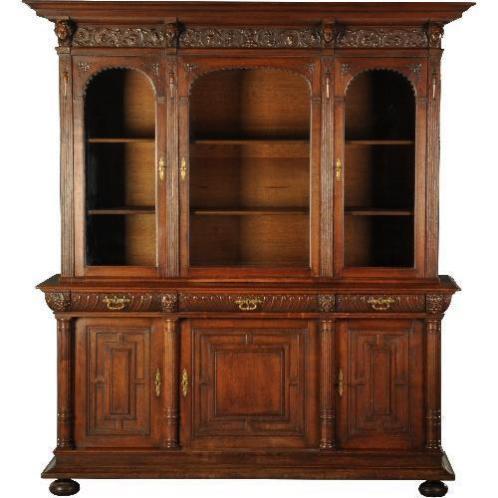 Antieke kasten / Holland neo-Renaiccense boekenkast, door...