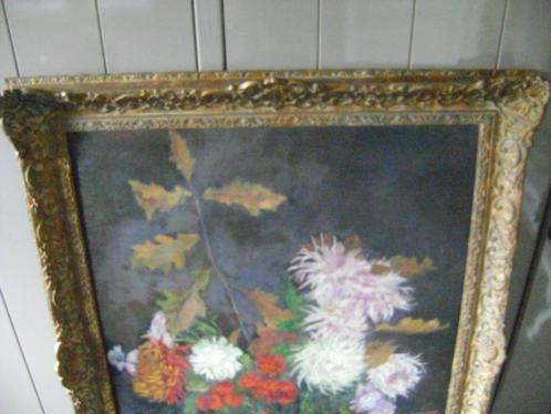 Groot schilderij met mooie lijst